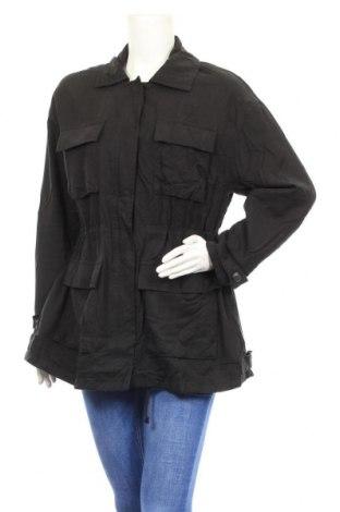 Γυναικείο μπουφάν Mtwtfss Weekday, Μέγεθος XS, Χρώμα Μαύρο, Βισκόζη, Τιμή 8,41€