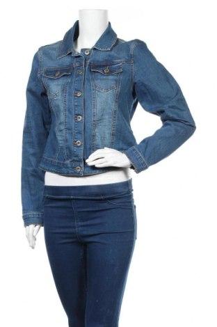 Γυναικείο μπουφάν New View, Μέγεθος L, Χρώμα Μπλέ, 98% βαμβάκι, 2% ελαστάνη, Τιμή 25,33€