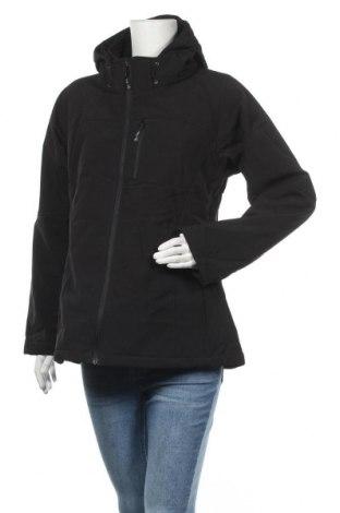 Γυναικείο μπουφάν αθλητικό New View, Μέγεθος XL, Χρώμα Μαύρο, Πολυεστέρας, Τιμή 18,33€