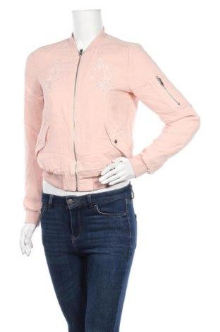 Дамско яке ONLY, Размер S, Цвят Розов, Полиестер, Цена 14,70лв.