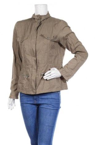 Дамско яке Outfit, Размер M, Цвят Зелен, 67% памук, 33% полиамид, Цена 11,55лв.