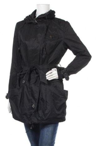 Γυναικείο μπουφάν Patrice Breal, Μέγεθος M, Χρώμα Μαύρο, 57% βαμβάκι, 43% πολυεστέρας, Τιμή 9,32€