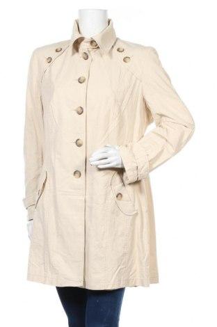 Дамски шлифер Petite M., Размер L, Цвят Бежов, 60% памук, 40% полиамид, Цена 25,20лв.