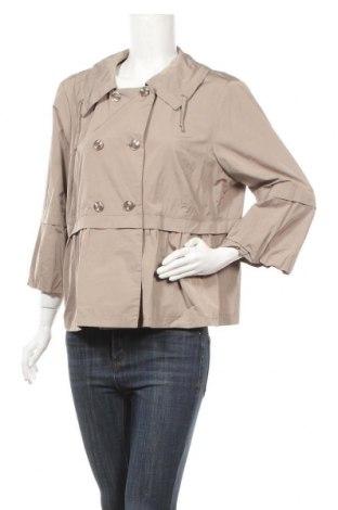 Γυναικείο μπουφάν Sallie Sahne, Μέγεθος XL, Χρώμα  Μπέζ, 78% πολυεστέρας, 22% βαμβάκι, Τιμή 36,58€