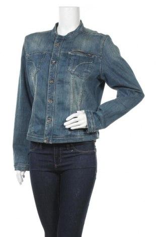 Γυναικείο μπουφάν Soya Concept, Μέγεθος XL, Χρώμα Μπλέ, 90% βαμβάκι, 6% πολυεστέρας, 4% ελαστάνη, Τιμή 17,25€