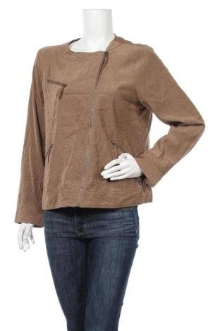Γυναικείο μπουφάν Suzanne Grae, Μέγεθος M, Χρώμα Καφέ, Πολυεστέρας, πολυαμίδη, Τιμή 1,59€