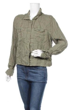 Дамско яке Tommy Bahama, Размер XL, Цвят Зелен, Лен, Цена 15,49лв.