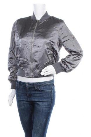 Γυναικείο μπουφάν Topshop, Μέγεθος M, Χρώμα Γκρί, Πολυεστέρας, Τιμή 26,63€