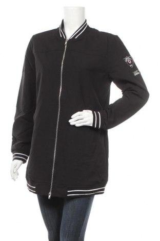 Дамско яке Up 2 Fashion, Размер M, Цвят Черен, 90% полиестер, 10% еластан, Цена 16,38лв.