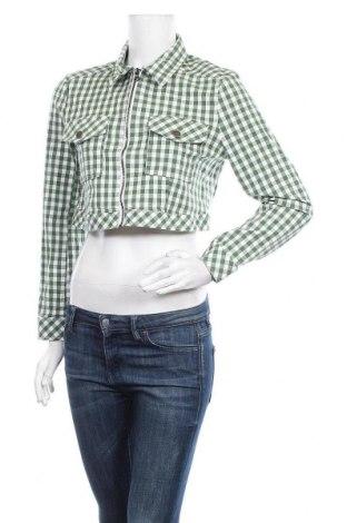 Дамско яке Urban Outfitters, Размер L, Цвят Зелен, 98% памук, 2% еластан, Цена 9,41лв.