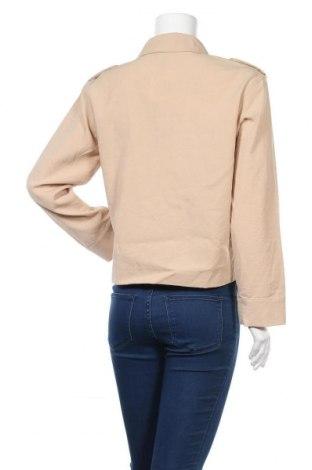 Дамско яке Vero Moda, Размер S, Цвят Бежов, 58% вискоза, 35% полиестер, 7% еластан, Цена 12,80лв.