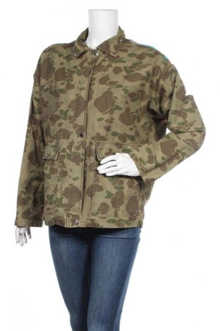 Дамско яке Zara, Размер M, Цвят Зелен, Цена 123,17лв.