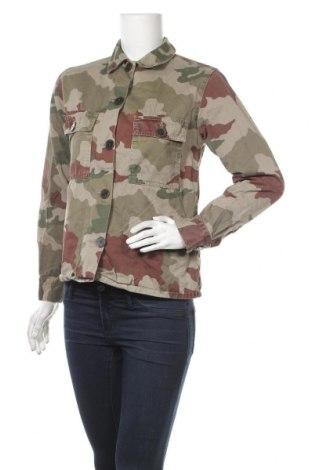 Дамско яке Zara Trafaluc, Размер S, Цвят Многоцветен, Памук, Цена 12,08лв.