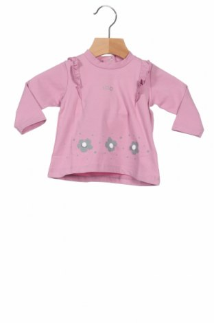 Παιδική μπλούζα iDo By Miniconfi, Μέγεθος 2-3m/ 56-62 εκ., Χρώμα Ρόζ , 93% βαμβάκι, 7% ελαστάνη, Τιμή 5,20€