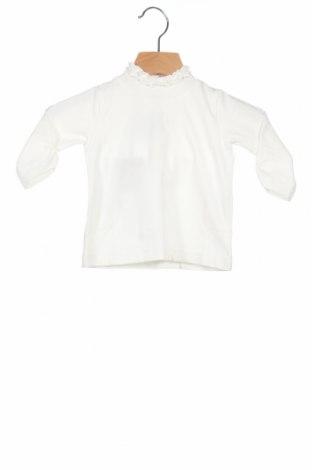 Παιδική μπλούζα iDo By Miniconfi, Μέγεθος 2-3m/ 56-62 εκ., Χρώμα Λευκό, 93% βαμβάκι, 7% ελαστάνη, Τιμή 3,71€