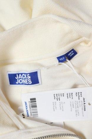 Παιδική μπλούζα Jack & Jones, Μέγεθος 11-12y/ 152-158 εκ., Χρώμα Λευκό, 50% βαμβάκι, 50% πολυεστέρας, Τιμή 13,11€