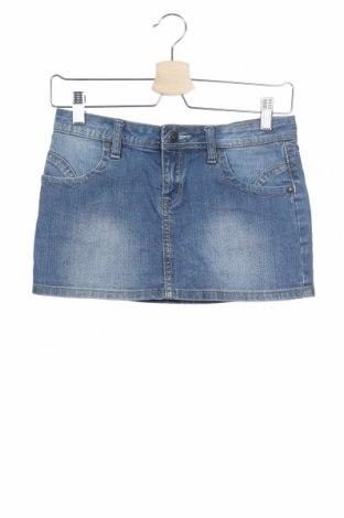 Παιδική φούστα Cars Jeans, Μέγεθος 10-11y/ 146-152 εκ., Χρώμα Μπλέ, 98% βαμβάκι, 2% ελαστάνη, Τιμή 5,23€