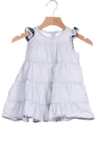 Παιδικό φόρεμα H&M, Μέγεθος 12-18m/ 80-86 εκ., Χρώμα Μπλέ, 54% βαμβάκι, 46% λινό, Τιμή 9,74€