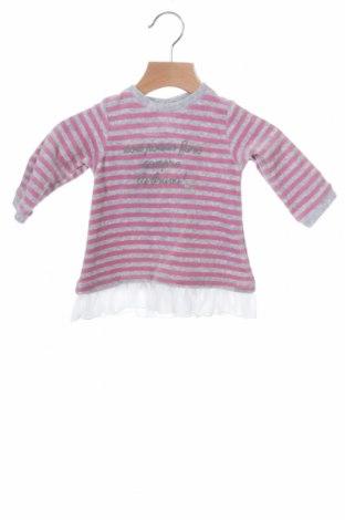Παιδικό φόρεμα iDo By Miniconfi, Μέγεθος 2-3m/ 56-62 εκ., Χρώμα Γκρί, 75% βαμβάκι, 25% πολυεστέρας, Τιμή 4,62€