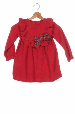 Παιδικό φόρεμα Lola Palacios, Μέγεθος 3-4y/ 104-110 εκ., Χρώμα Κόκκινο, Βαμβάκι, Τιμή 19,77€
