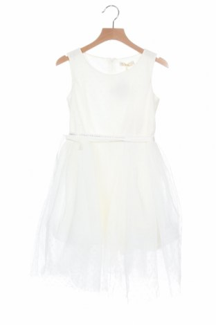 Παιδικό φόρεμα Monnalisa, Μέγεθος 7-8y/ 128-134 εκ., Χρώμα Λευκό, Πολυεστέρας, βαμβάκι, πολυαμίδη, Τιμή 35,90€