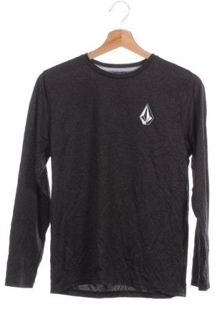 Παιδική μπλούζα αθλητική Volcom, Μέγεθος 13-14y/ 164-168 εκ., Χρώμα Μαύρο, 67% πολυαμίδη, 33% πολυεστέρας, Τιμή 15,17€