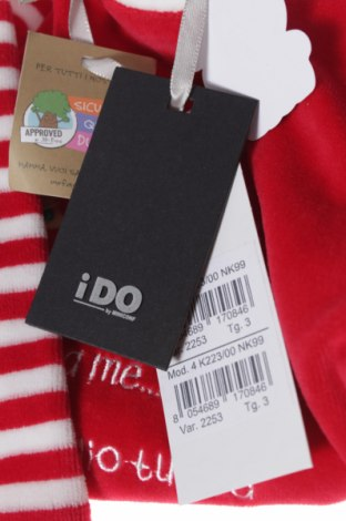 Παιδική σαλοπέτα iDo By Miniconfi, Μέγεθος 2-3m/ 56-62 εκ., Χρώμα Κόκκινο, Πολυεστέρας, Τιμή 5,20€