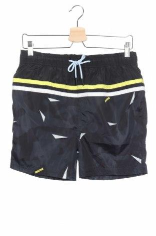 Παιδικό κοντό παντελόνι, Μέγεθος 15-18y/ 170-176 εκ., Χρώμα Μπλέ, Πολυεστέρας, Τιμή 5,38€
