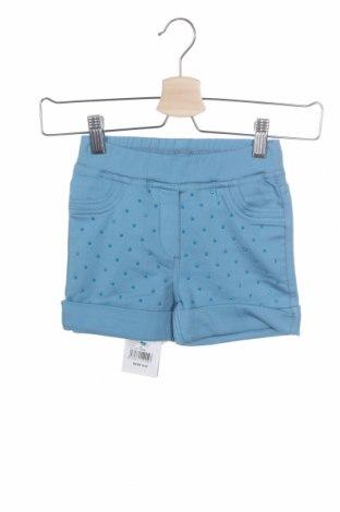 Παιδικό κοντό παντελόνι Monnalisa, Μέγεθος 3-4y/ 104-110 εκ., Χρώμα Μπλέ, 85% βαμβάκι, 13% πολυεστέρας, 2% ελαστάνη, Τιμή 14,29€