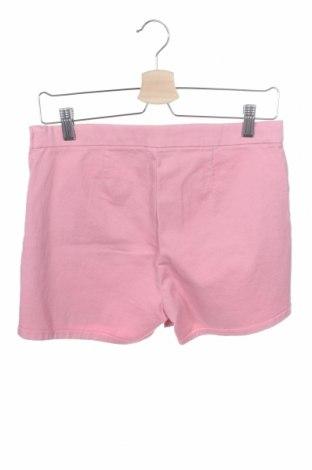 Παιδικό κοντό παντελόνι United Colors Of Benetton, Μέγεθος 14-15y/ 168-170 εκ., Χρώμα Ρόζ , 98% βαμβάκι, 2% ελαστάνη, Τιμή 11,14€