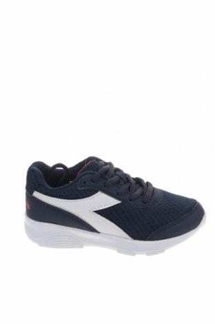 Παιδικά παπούτσια Diadora, Μέγεθος 30, Χρώμα Μπλέ, Κλωστοϋφαντουργικά προϊόντα, δερματίνη, Τιμή 41,02€