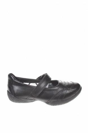 Παιδικά παπούτσια Geox, Μέγεθος 26, Χρώμα Μαύρο, Γνήσιο δέρμα, Τιμή 23,51€