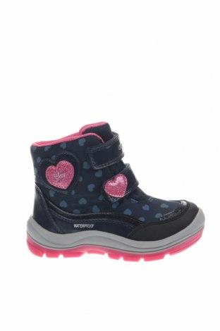 Παιδικά παπούτσια Geox, Μέγεθος 25, Χρώμα Μπλέ, Δερματίνη, κλωστοϋφαντουργικά προϊόντα, Τιμή 46,01€