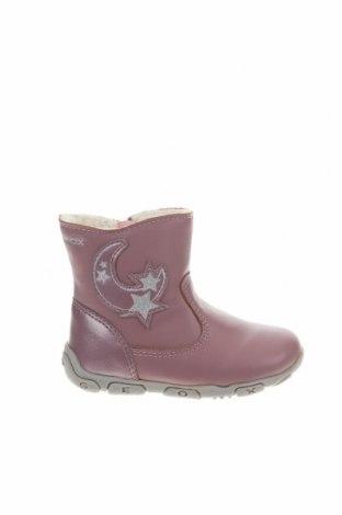 Παιδικά παπούτσια Geox, Μέγεθος 20, Χρώμα Ρόζ , Δερματίνη, γνήσιο δέρμα, Τιμή 46,01€