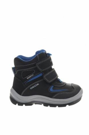 Παιδικά παπούτσια Geox, Μέγεθος 26, Χρώμα Μαύρο, Δερματίνη, κλωστοϋφαντουργικά προϊόντα, Τιμή 56,19€