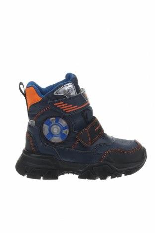 Παιδικά παπούτσια Geox, Μέγεθος 27, Χρώμα Μπλέ, Δερματίνη, κλωστοϋφαντουργικά προϊόντα, Τιμή 56,19€