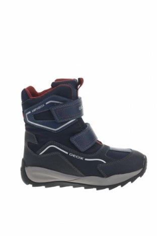 Παιδικά παπούτσια Geox, Μέγεθος 31, Χρώμα Μπλέ, Δερματίνη, κλωστοϋφαντουργικά προϊόντα, Τιμή 61,34€