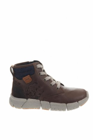 Παιδικά παπούτσια Geox, Μέγεθος 28, Χρώμα Καφέ, Γνήσιο δέρμα, Τιμή 59,79€