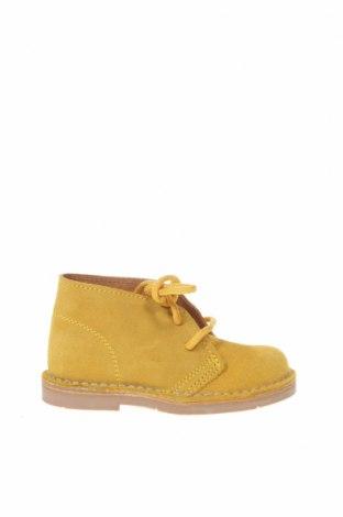 Παιδικά παπούτσια Lola Palacios, Μέγεθος 22, Χρώμα Κίτρινο, Φυσικό σουέτ, Τιμή 39,87€