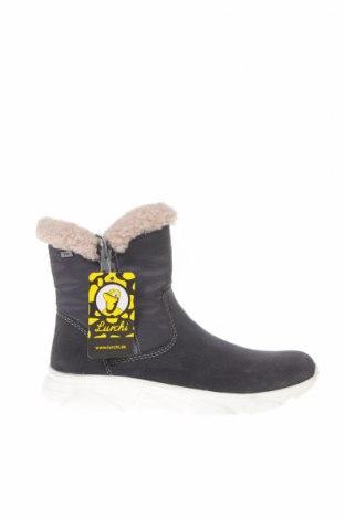 Παιδικά παπούτσια Lurchi, Μέγεθος 31, Χρώμα Μπλέ, Φυσικό σουέτ, κλωστοϋφαντουργικά προϊόντα, Τιμή 33,49€