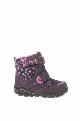 Παιδικά παπούτσια Lurchi, Μέγεθος 22, Χρώμα Βιολετί, Κλωστοϋφαντουργικά προϊόντα, Τιμή 35,57€