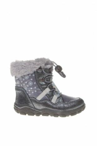 Παιδικά παπούτσια Lurchi, Μέγεθος 26, Χρώμα Γκρί, Γνήσιο δέρμα, κλωστοϋφαντουργικά προϊόντα, Τιμή 29,73€