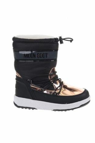 Παιδικά παπούτσια Moon Boot, Μέγεθος 30, Χρώμα Μαύρο, Δερματίνη, κλωστοϋφαντουργικά προϊόντα, Τιμή 41,89€