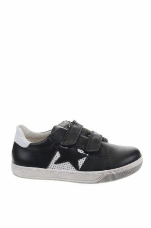 Παιδικά παπούτσια Naturino, Μέγεθος 29, Χρώμα Μαύρο, Γνήσιο δέρμα, Τιμή 42,94€