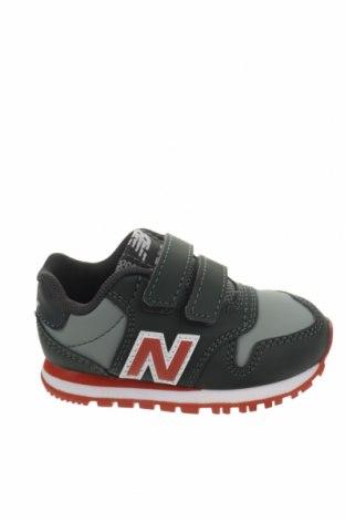 Παιδικά παπούτσια New Balance, Μέγεθος 20, Χρώμα Πράσινο, Δερματίνη, Τιμή 35,72€