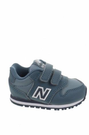 Παιδικά παπούτσια New Balance, Μέγεθος 20, Χρώμα Μπλέ, Δερματίνη, Τιμή 35,72€