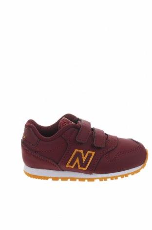 Παιδικά παπούτσια New Balance, Μέγεθος 23, Χρώμα Κόκκινο, Δερματίνη, κλωστοϋφαντουργικά προϊόντα, Τιμή 34,41€