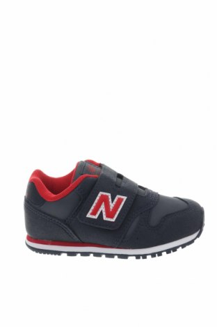 Παιδικά παπούτσια New Balance, Μέγεθος 23, Χρώμα Μπλέ, Κλωστοϋφαντουργικά προϊόντα, δερματίνη, Τιμή 26,68€