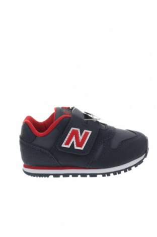 Παιδικά παπούτσια New Balance, Μέγεθος 22, Χρώμα Μπλέ, Κλωστοϋφαντουργικά προϊόντα, δερματίνη, Τιμή 30,54€