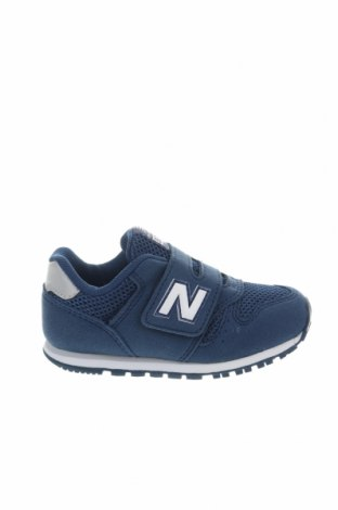 Παιδικά παπούτσια New Balance, Μέγεθος 23, Χρώμα Μπλέ, Κλωστοϋφαντουργικά προϊόντα, Τιμή 30,54€